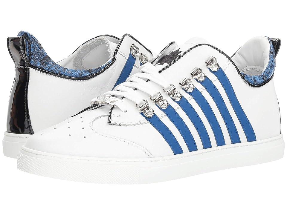 DSQUARED2 New Runner Sneaker (White/Blue) Men