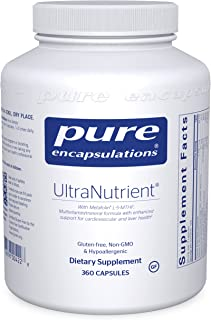 Pure Encapsulations UltraNutrient | Multivitamin Supplement to Support Liver, Cardiovascular Health, and Antioxidants* | 3...