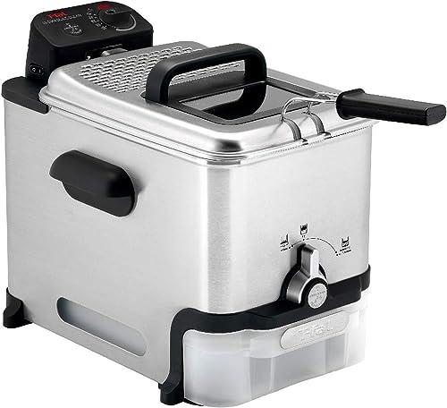 Deep-Fryer-with-Basket,-Stainless-Steel,-Easy-to-Clean-Deep-Fryer