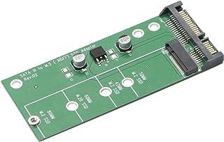 JIUWU AD905A SATA III 3 to M.2 (NGFF) SSD 7+5 Pin Connector Converter Adapter Card