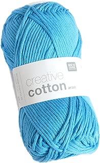 Rico Design Creative Cotton Aran - Turquoise (036)