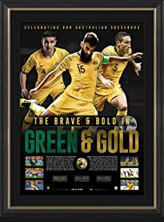 Sport Entertainment Products Socceroos Signed 'Green & Gold'
