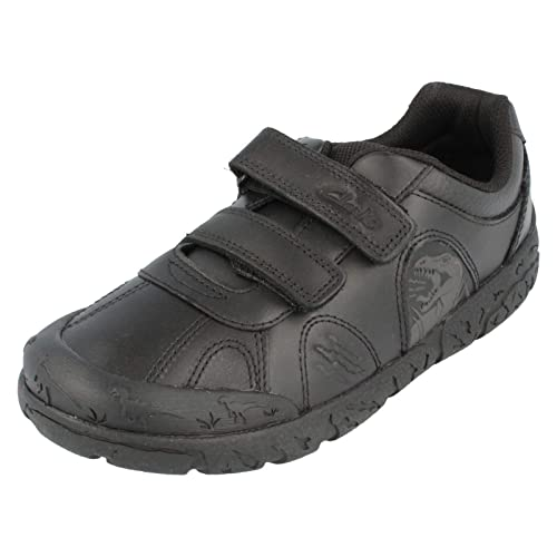 97af06a0ab5 Clarks Brontostep Infant Boys School Shoes
