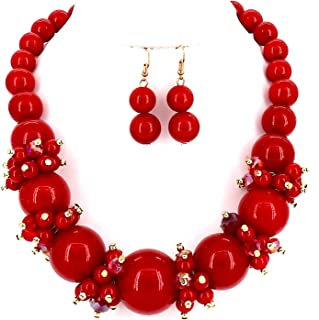 Best red pearl jewelry Reviews