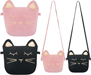 f1231ac89e TOODOO Little Girls Purses Cute Cat Ears Girl Crossbody Shoulder Bag for  Kids