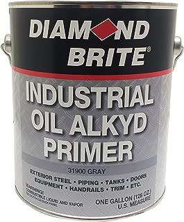 Diamond Brite Paint 31900 1-Gallon Oil Base Industrial Primer paint Grey