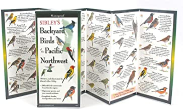 Sibley's Back. Birds of Pacific Northwest (Foldingguides)