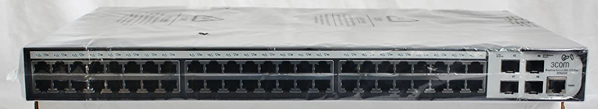 3COM Baseline 2948-SFP Plus 3CBLSG48-US 48-port Web Managed Layer 2 Gigabit Switch w/ 4x SFP