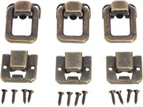 SSB-DAKOU, 6 stuks Antiek Brons/Goud Box Handtas Gesp Sieraden Doos Hout Koffer Haspe Latch Toggle Latch Hardware Accessoi...