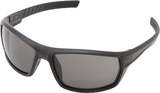 UA Ranger (Wwp/Ansi) Satin Black Frame w/ Black Rubber Frame/Gra