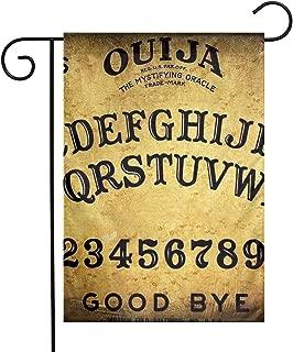 KKWX Welcome Garden Flag Ouija Board Clipart Decoration Outdoor Garden Flag