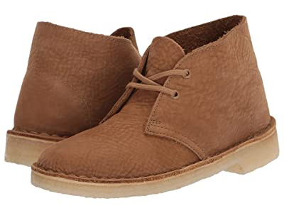 Clarks Desert Boot (Oak Nubuck) Women