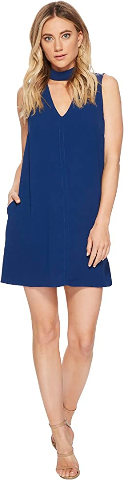 Momsen Crepe Shift Dress