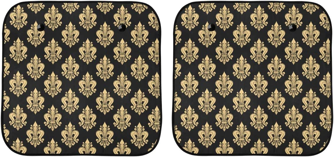 ENEVOTX Cars Sunshade for Car Max 70% OFF Heraldic New product Windshield French D Fleur