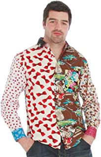 MorphCostumes Foul Fashion Mens Ugly Shirt - Every Shirt is Different! - Size Large 16.5 inch Collar