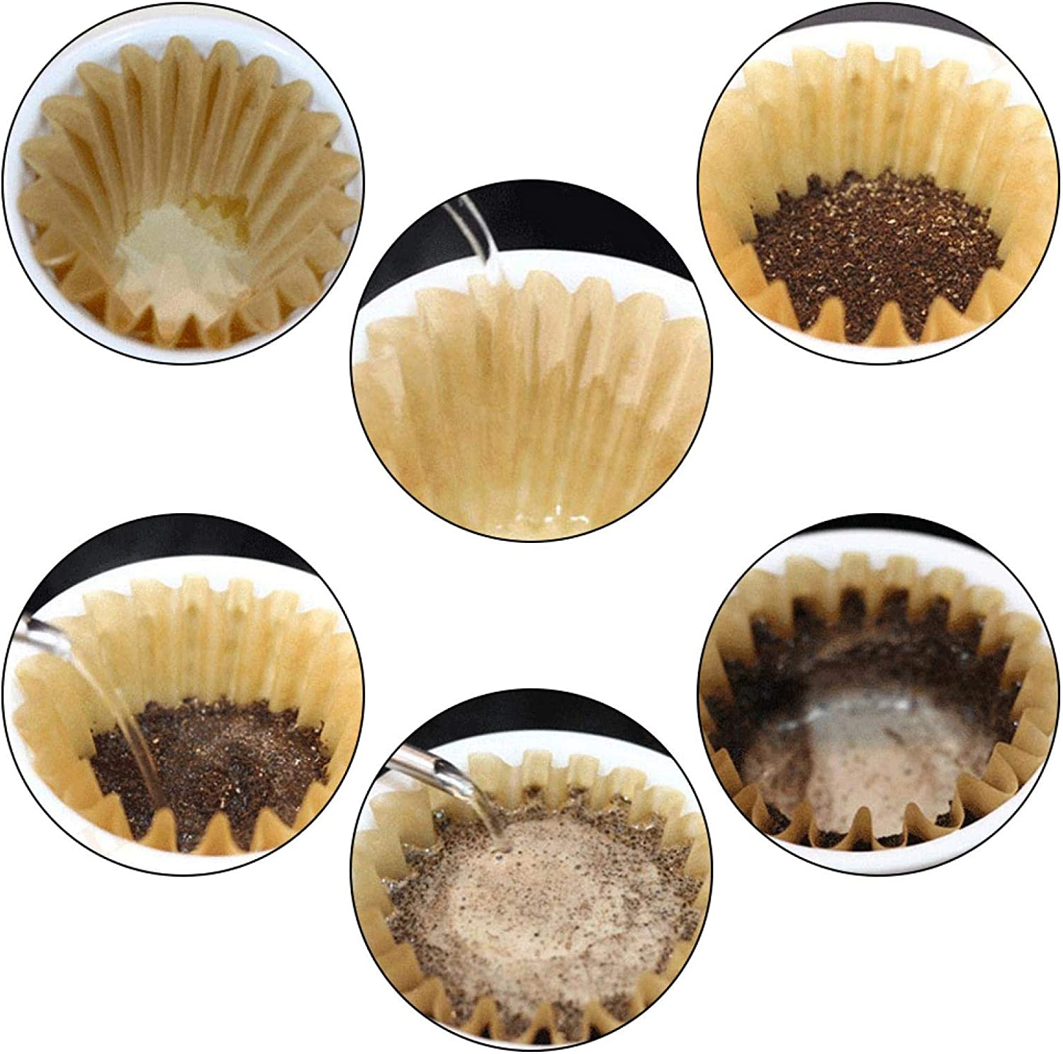 Coffee Filter Ranking TOP11 Disposable Disposabl Non-Toxic 50pcs Max 49% OFF
