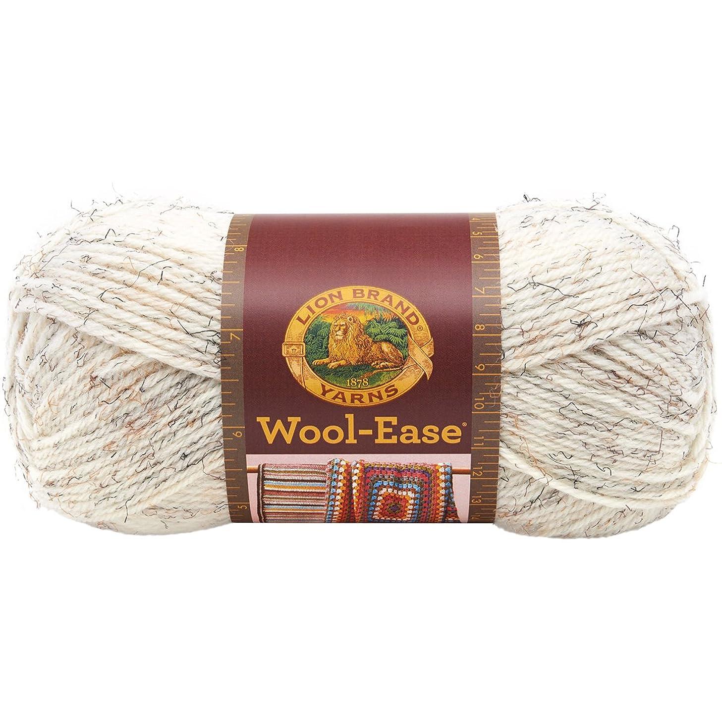 Lion Brand Yarn Lion Brand Wool-Ease Yarn (402) Wheat,