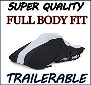 Super Quality, Full Fit Snowmobile Sled Cover fits Ski-Doo Freeride 154 2011 2012 2013 2014 2015 2016 2017