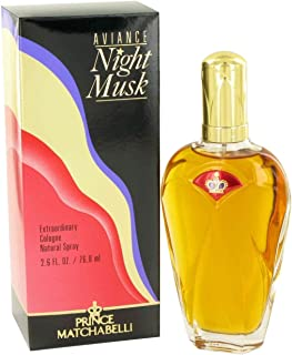 Aviance Night Musk By Prince Matchabelli for Women Cologne Spray, 2.6-Ounce