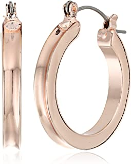 GUESS Womens Small Wide Hoop Earring