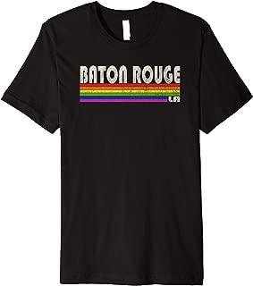 Vintage 80's Style Baton Rouge LA Gay Pride Month Premium T-Shirt
