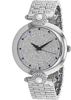 Christian Van Sant Women's Quartz Stainless Steel Strap, Silver, 18 Casual Watch (Model: CV0020)