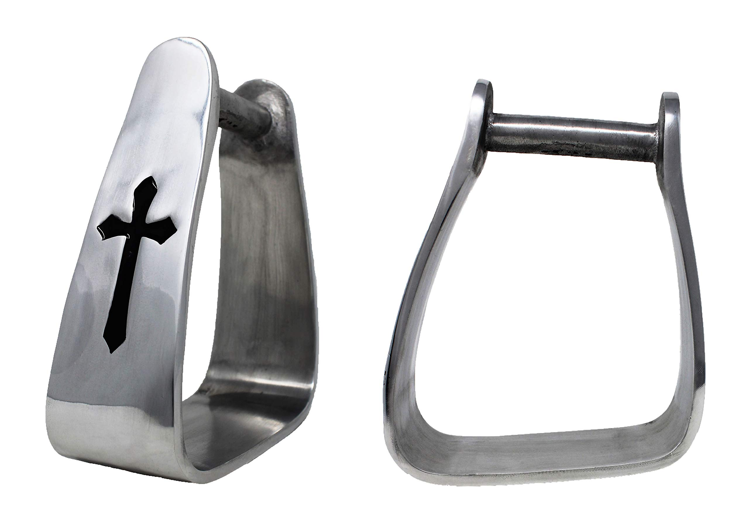 ProRider Western Stirrups Slanted Aluminum