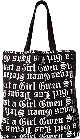 Just a Girl All Over Print Tote
