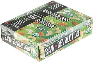 Raw Revolution Organic Food Bar - 12 Bars