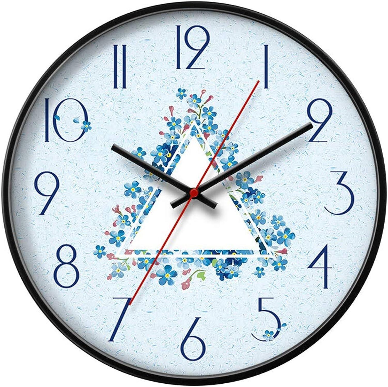 preferente QQB &Reloj Parojo Reloj de de de Parojo Sin tictac Batería Sala de Estar Decoración Dormitorio silencioso Relojes de Estilo Moderno (Tamaño   12in)  Envío y cambio gratis.