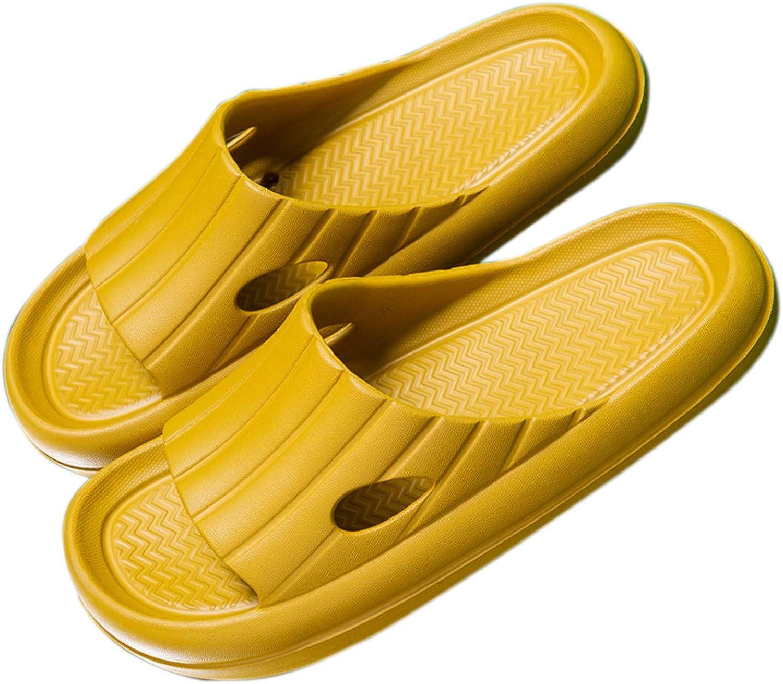 Pillow Slides Slippers for Women, Non-Slip Massage Foam Shower Bathroom Home Floor Thick Sole Quick Drying Sandals Platform Open Toe Slides Shoes