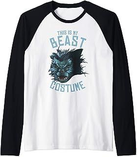 Marvel Beast This Is My Costume Manche Raglan