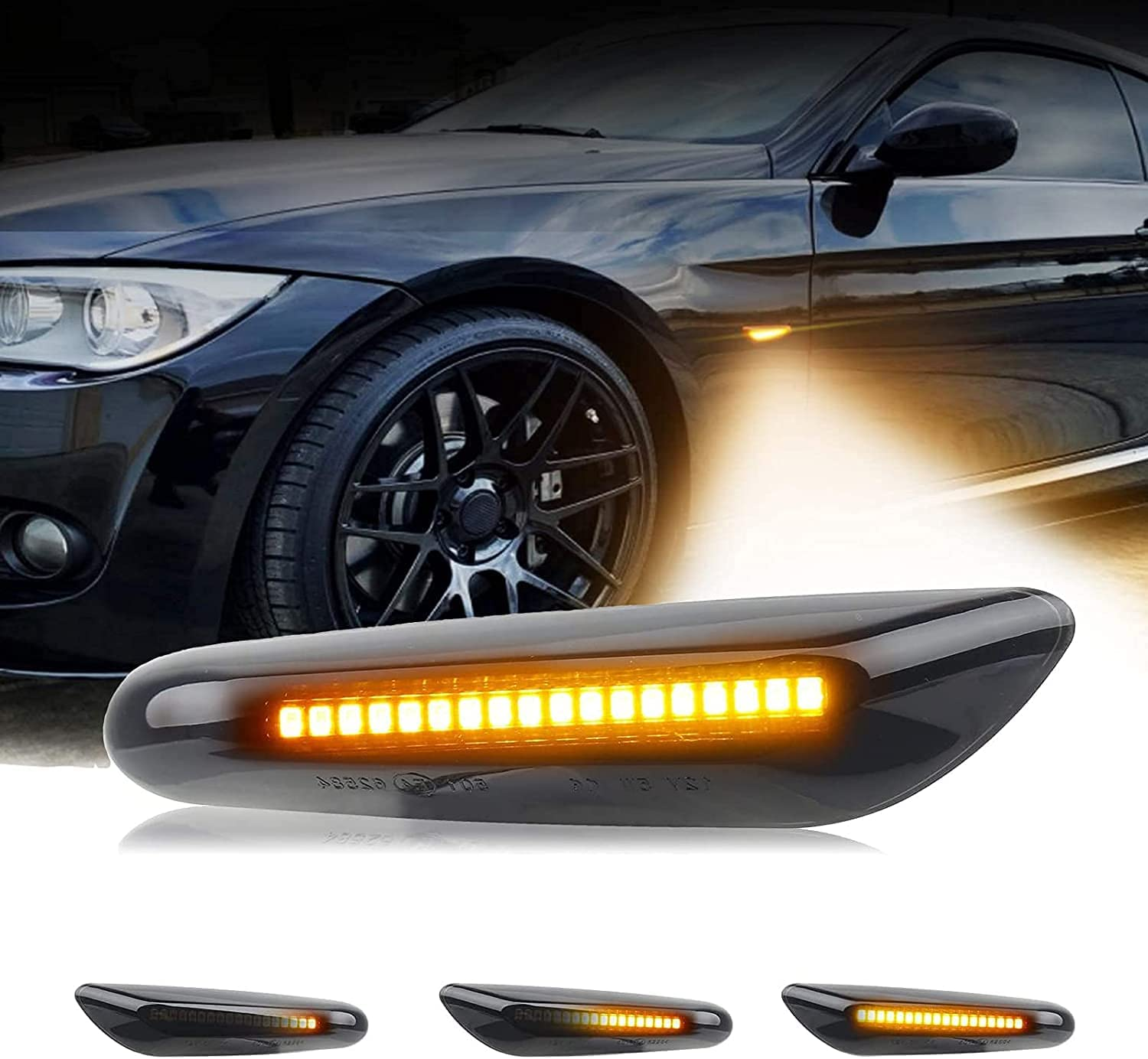 Full Courier shipping free LED Front Bumper Fender Side Ranking integrated 1st place Lights Signal Marker Turn Ligh