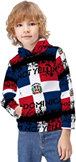 Kid's Novelty Sweater Mexico Flag Sugar Skull Day of The Dead Thicken Hoodies Warm Hooded Pullover Top Sweatshirt-