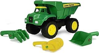 """John Deere 15"""" Big Scoop Dump Truck with Sand Tools"""