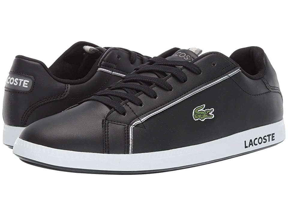 Lacoste Graduate 119 1 SMA (Black/Grey) Men