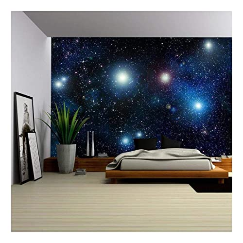 Wall26 Stars Ine Or Night Sky Removable Wall Mural Self Adhesive Large