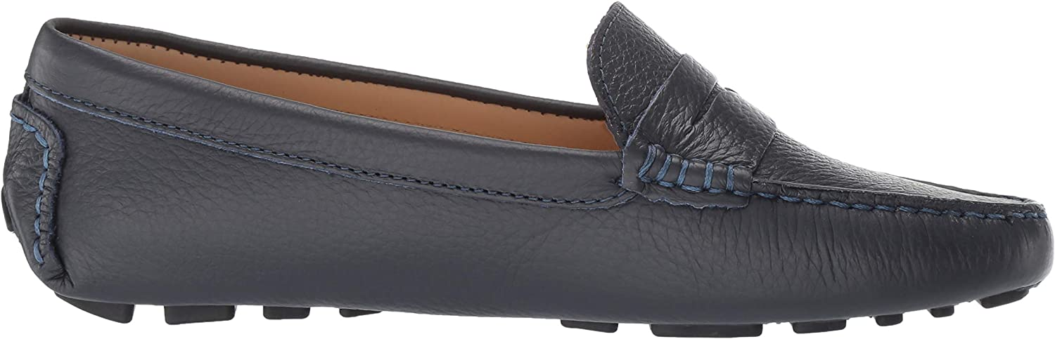 Driver Club USA Womens Leather Made in Brazil Naples Loafer Driving Style