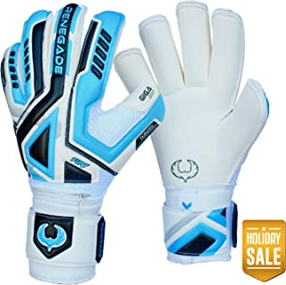 Renegade GK Fury Goalie Gloves (Sizes 7-11, 6 Styles, Level 4) Pro-Tek Fingersaves & 4mm Giga Grip | High Perf. Pro-Level Goalkeeper Glove | Superior Grip, Protection, and Comfort | Based in The USA