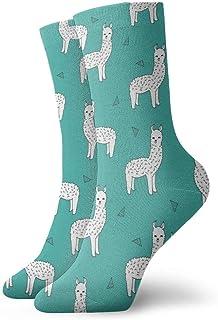 Jhonangel, Cute Llamas Baby Alpaca Dress Socks Calcetines divertidos Crazy Socks Calcetines casuales para niñas niños