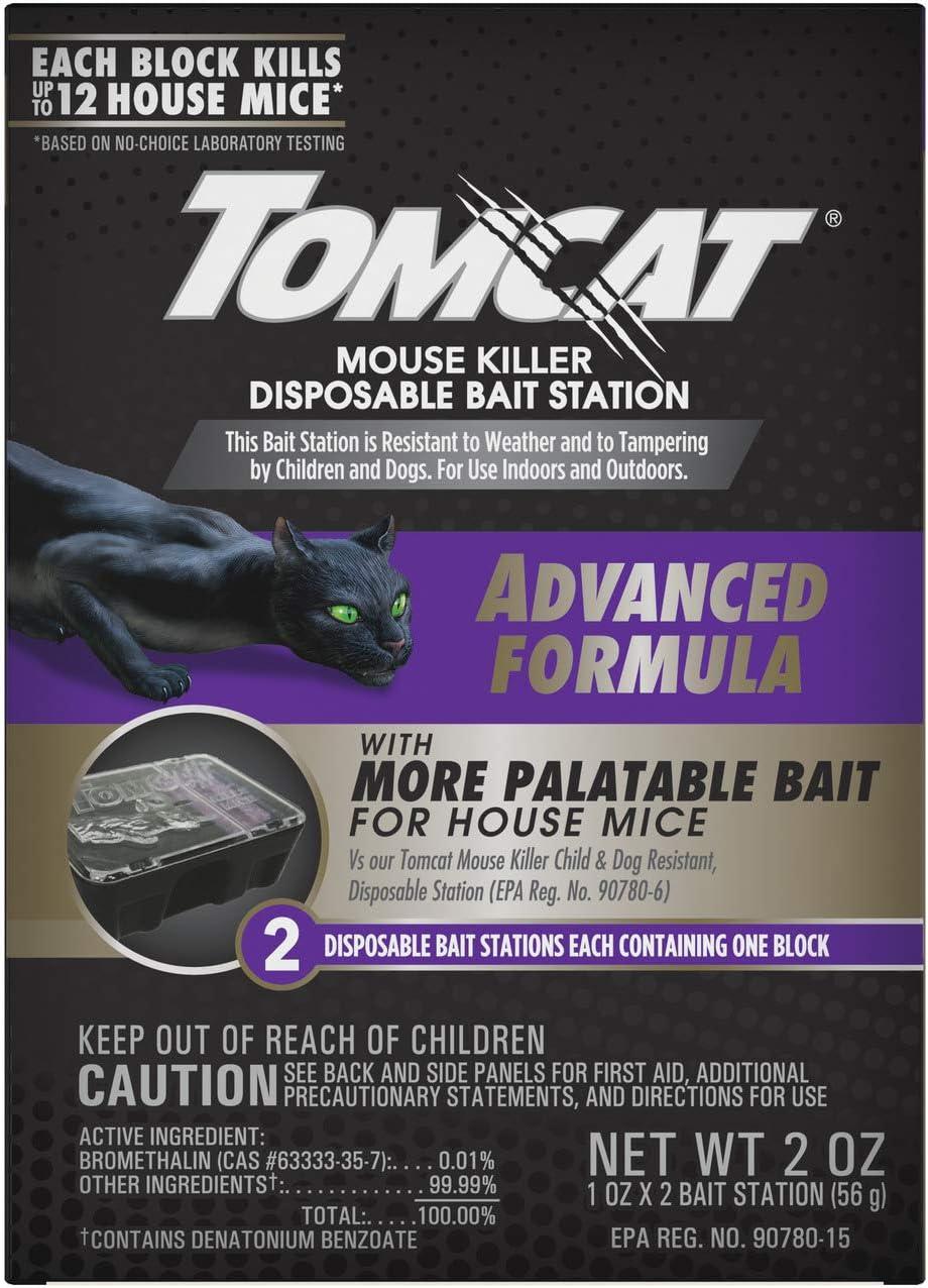 Tomcat 0373705 Killer Disposable Bait Advanced Statio Formula Houston Mall 2 Attention brand