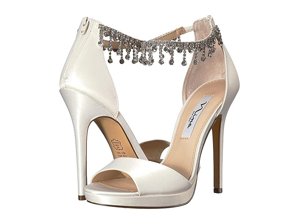 Nina Feya (Ivory Satin) High Heels
