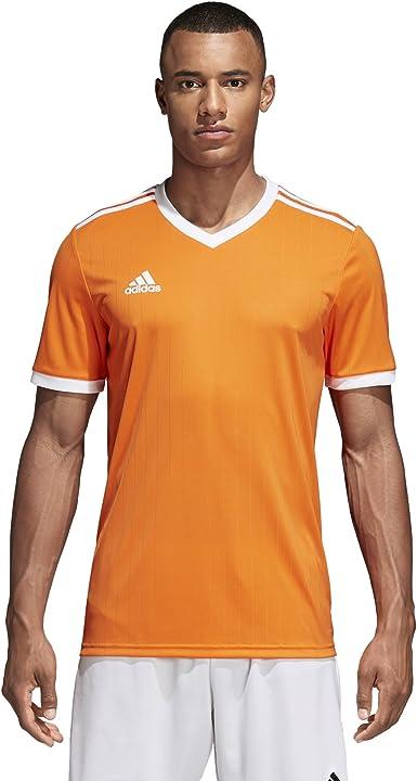 adidas Tabela 18 Jersey - Men's Soccer S Orange/White