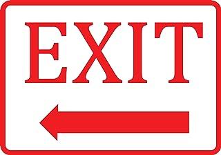 Best exit sign left arrow Reviews