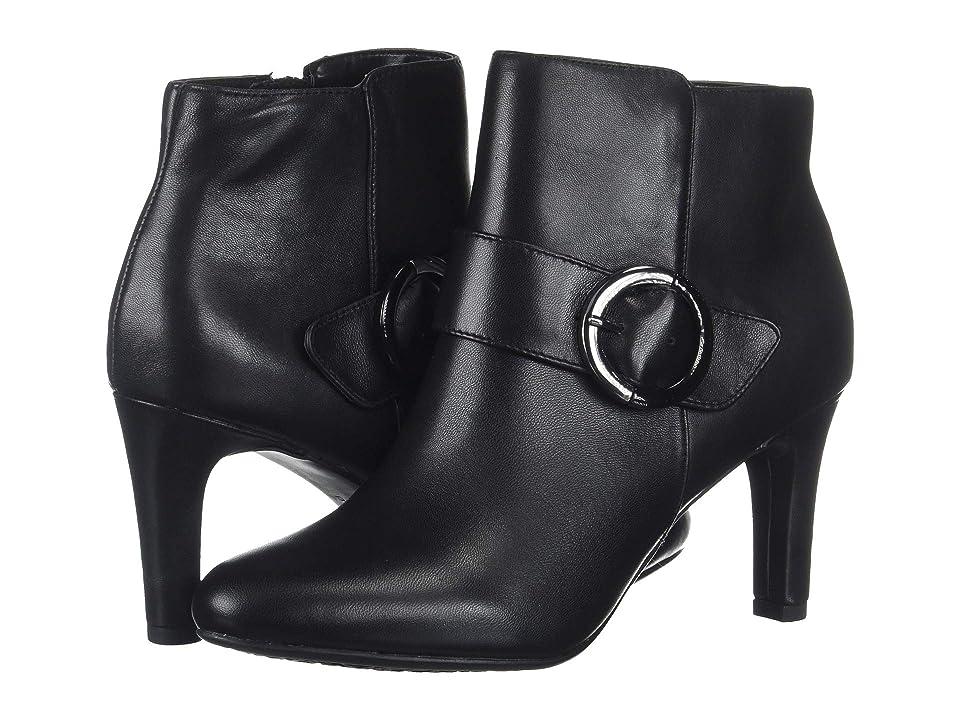 Bandolino Lanaro Bootie (Black Leather) Women