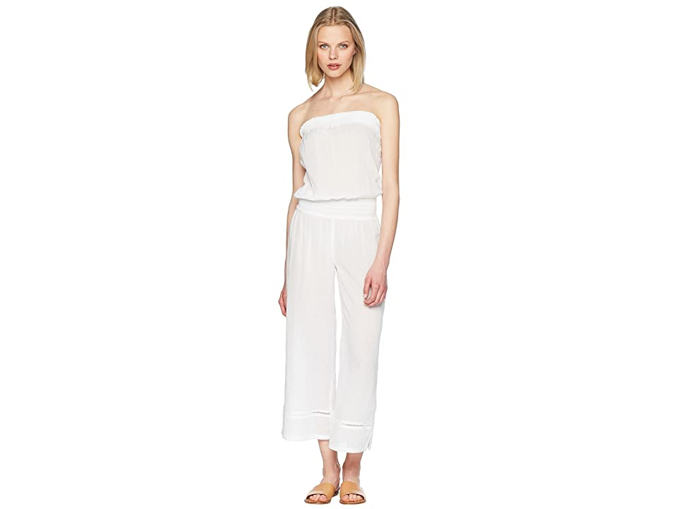 Heidi Klein Seychelles Smocked Jumpsuit (White) Women