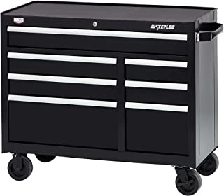 Waterloo W500 Series 7-Drawer Rolling Tool Cabinet with Posi-latch Drawer Latching System, 41
