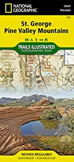 St George, Pine Valley Mountain (National Geographic Trails Illustrated Map (715))