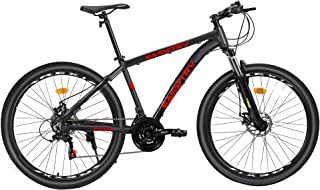 Easytry REXi-R2 Mountain Bike 27.5 inch Wheels Shimano Gear 21 Speed 18-Inch Aluminum Frame Front Suspension MTB