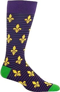 Mens Fleur De Lis Socks